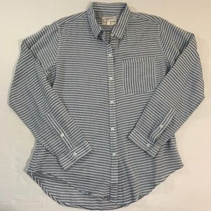 Current Elliot Striped Button Front Shirt 2